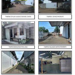 Pabrik 1 Lantai Luas Tanah 2070m2 di Jl.Karet Jaya (BNLD01)