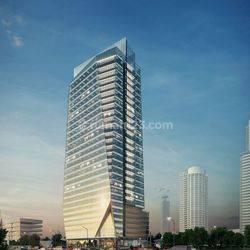 RUANG KANTOR / Office SIAP PAKAI (200 sqm) di SATRIO TOWER, KUNINGAN Jakarta Selatan