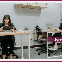 Diskon 30% + Gratis  sampai 3 Bulan Serviced Office di Meruya, Jakarta Barat