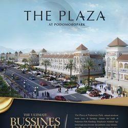 Ruko The Plaza Shophouse Podomoro Park Buah Batu Bandung - Live with Nature