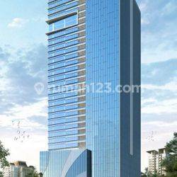 the prominence office tower alam sutera, office 1 lantai full