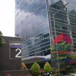 Ruang Kantor / Office Siap pakai (797 m2) @  CYBER 2 TOWER, Rasuna Said Kuningan Jakarta Selatan