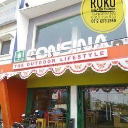 Ruko Gandeng Murah Sebrang Hotel FM 3 Jalan MH Thamrin Strategis