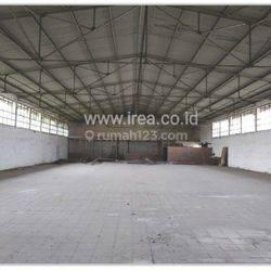 Pabrik / Gudang 2540/1100/45, 180jt/th, zona merah Boyolali