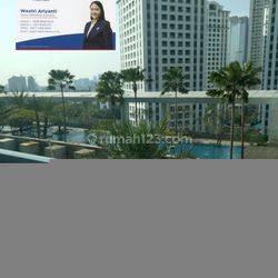 office city loft, LT sedang, view kolam renang (unfurnish) Tanah Abang, Jakarta Pusat