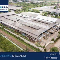 Workshop Pabrik Ex Besi Baja - Kawasan Industri Jatake Tangerang