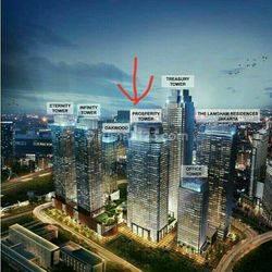 kantor Treasury Office Tower.size 133 sqm,info 081287869215*Sinta Senayan, Kebayoran Baru, South Jakarta City, Jakarta 12190