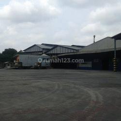 Bangunan Pabrik Dan Mesin Eks PT. Wira Paper Di Tangerang. Turun  Harga