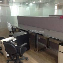 Office Space 214 sqm APL Tower at Central Park, Tanjung Duren, Jakarta Barat.