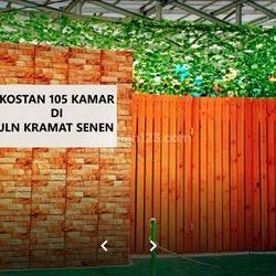 Kostan 105 Kamar, 4 Lantai Di Jalan Kramat Senen MP5773JL