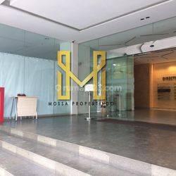 Ruang usaha di ground lobby gedung perkantoran area Cikini- Menteng- Jakarta Pusat