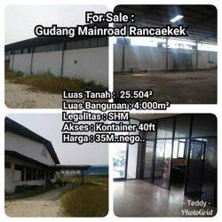 Gudang/Pabrik Mainroad Rancaekek