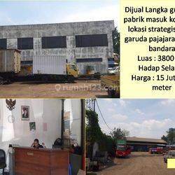 udang/Pabrik masuk Kontainer Lokasi Strategis Sayap Garuda Pajajaran, dekat dengan Bandara