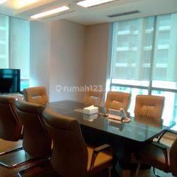 Kantor 2 Unit Jadi 1 di Office 8 SCBD, Jakarta Selatan. Luas 473 m2