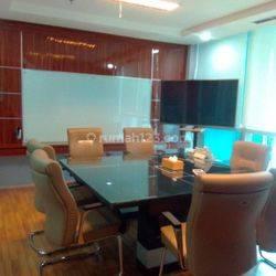 Kantor 2 Unit Jadi 1 di Office 8 SCBD, Fully Furnish