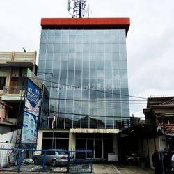 Gedung 4 lantai Jl Salemba Tengah Jakarta Pusat Cocok Untuk Kantor atau Kost-Kostan 675m