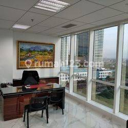 Office Space Puri Indah Financial Tower Furnished