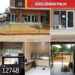 Kios Grand Palm, Duri Kosambi, Jakarta Barat, 3x6m, SHM