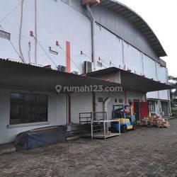 (GA0903-CS) Pabrik siap pakai, izin industri di Serpong