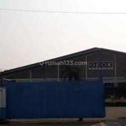 Ex. Pabrik garmen di kawasan industri Jatake - tangerang