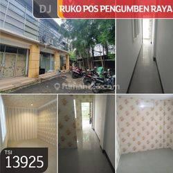 Ruko Pos Pengumben Raya, Jakarta Barat, 4x12m, 2 Lt, HGB