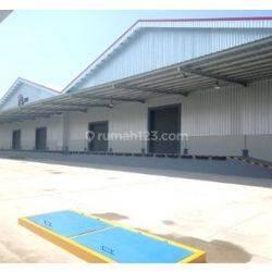 Gudang Bangunan Baru Siap Pakai di Kawasan Industri Area Cikarang Pusat