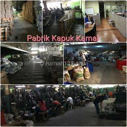 KAPUK KAMAL Pabrik.  Jakarta Utara