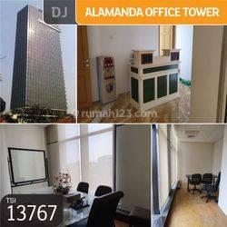 Office Alamanda Tower, Jakarta Selatan, 74,5 m², PPJB