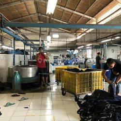 Sukamenak, Pabrik Washing Siap Running