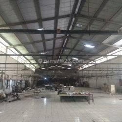 Pabrik Tengah Kota Siap Pakai Dekat Tol