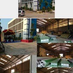 Gedung + Gudang Ex.pabrik Fiberglass di Kawasan Industri Jababeka. ( KIJ )