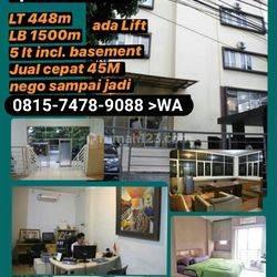 NEGO KERASSS...Sultan Residence Apartment Cilandak. 5 lantai + lift, include Basement. Nego sampai jadi..!!