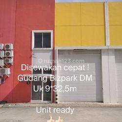 kan Cepat.. Gudang Bizpark Daan Mogot uk 9*32,5m. unit ready !!