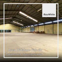 Pabrik dan Gudang Ex Pabrik Teh di Jalan Mercedez  Gunung Putri Bogor