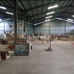 gudang jatake Dalam kawasan industri masuk kontener Luas 2000m2
