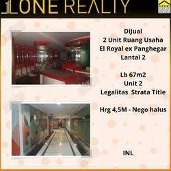 2 Unit Ruang Usaha El Royal ex Panghegar, Bandung