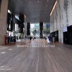 Office Space Treasury Tower District 8, Lt Belasan, View Sudirman SCBD