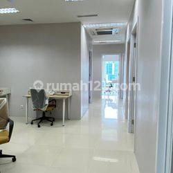 Office space di H Tower, Kuningan, Jakarta Selatan, 150m2, Brand New, Fullfurnished, free service charge