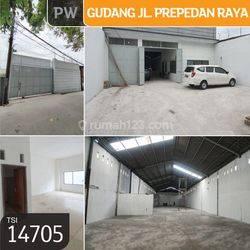 Gudang Jl. Prepedan Raya, Kalideres, Jakarta Barat, 10x55m, 1 Lt, SHM