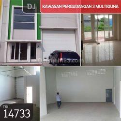 Kawasan Pergudangan 3 Multiguna, Bitung, Tangerang, 9x27m, HGB