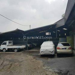 Lahan komersial ex pabrik/Gudang Bandung kota