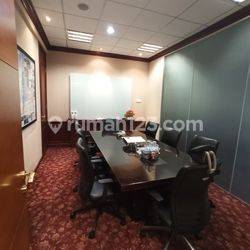 Ruang Kantor Full Furnished 153 m2 di Bakrie Tower, Epicentrum
