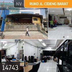 Ruko Jl. Cideng Barat, Jakarta Pusat, 10x30m, 4 Lt, SHM