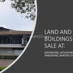 Tanah Industri, Bangunan Pabrik Jatiuwung, Tangerang Banten