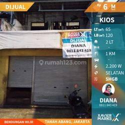 Ruko 2 Lantai Di Lokasi Sangat Strtegis Di Benhil, Jakarta Pusat