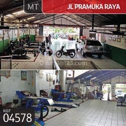 Gudang Jl. Pramuka Raya, Jakarta Timur