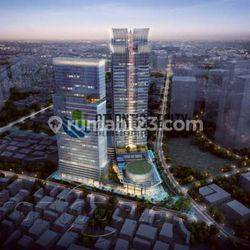 1 lantai full office sapo del tower siap huni dan strategis