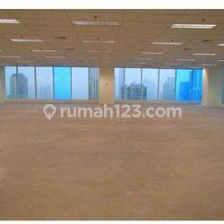Ruang Kantor Centennial Tower Gatot Subroto Kondisi Bare Luas 700