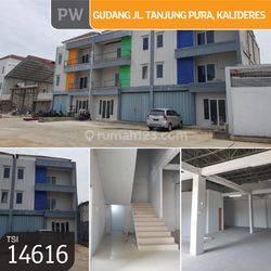 Gudang Jl. Tanjung  Pura, Jakarta Barat, 10x30m, 1 Lt, SHM