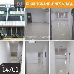 Rukan Grand Aries Niaga, Meruya Utara, Jakarta Barat, 4,5x15m, 3 Lt, HGB
